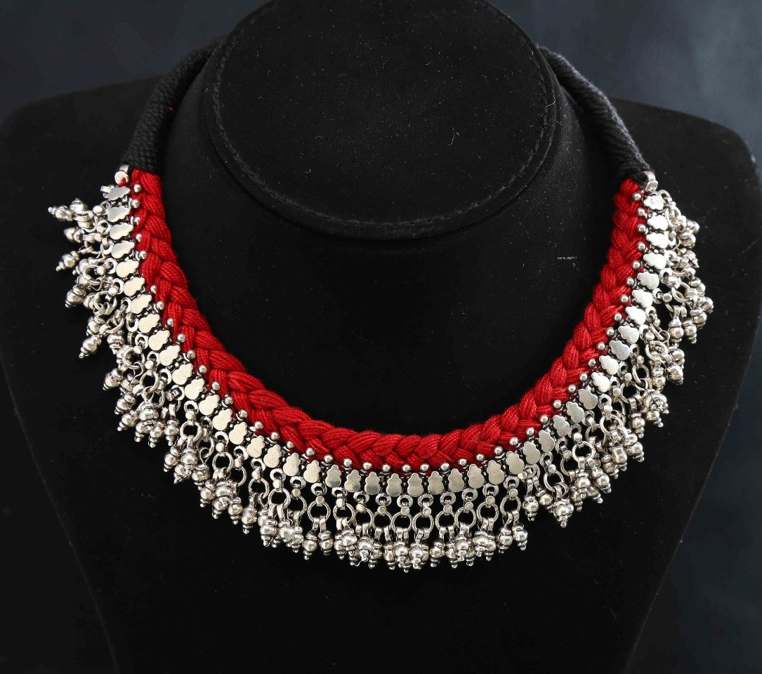 jewellery the yakshi kasu necklace ko silver women antique mala for designs products