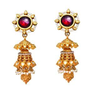 Antique earring-PCBAE002