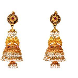 Antique earring-PCBAE003