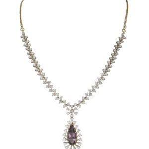 Diamond necklace -PCBDN003