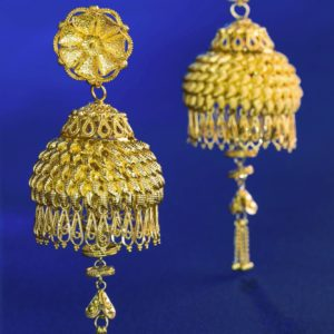Gold earring-PCCGE001