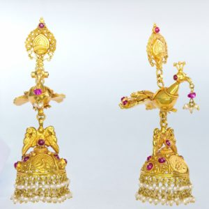 Gold earring-PCCGE002
