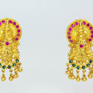 Gold earring-PCCGE003