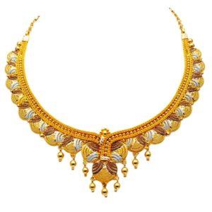 Gold necklace-PCBGN001