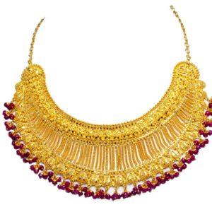 Gold necklace-PCBGN002