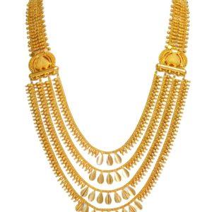 Gold necklace-PCBGN003