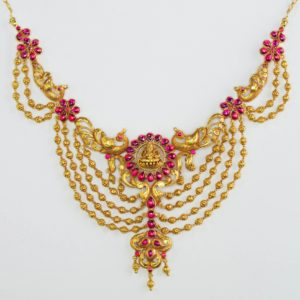Gold necklace-PCCGN002