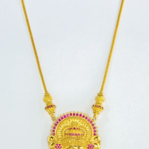 Gold necklace-PCCGN003