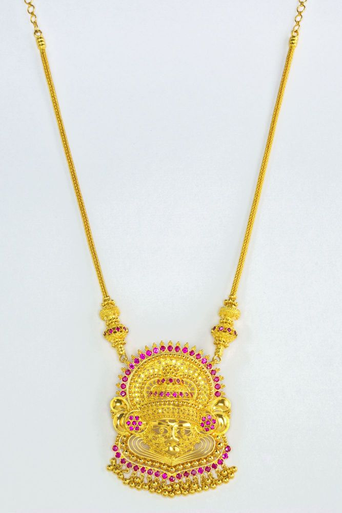 Gold Necklace Bhima Jewellers