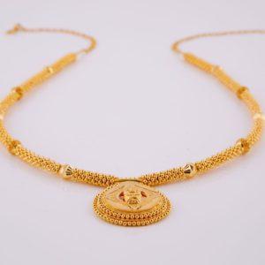 Gold necklace-PCTGN003