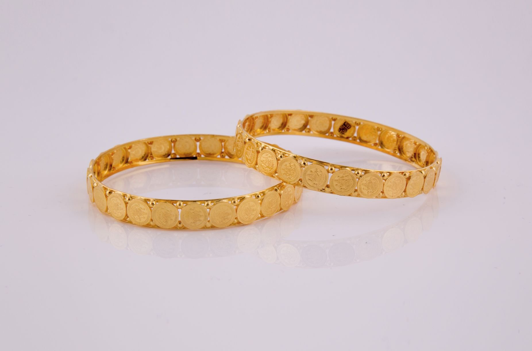 yellow plain company jewellers jewellery com bangles bracelet shopping a online ruchi candere kalyan bangle gold india